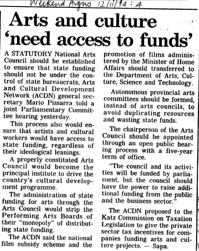 acdn-arts-council