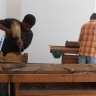 Against the Grain - Shepherd Mbanye and Ishmael Thyssen hard at work