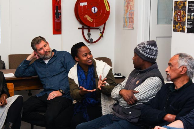 Charl Bezuidenhout, Nomusa Makhubu & Tony Mhayi @ ASAI AGM, 2016