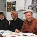 Randy Hartzenberg, Donald Parenzee & Mario Pissarra @ ASAI AGM, 2016