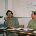 Ari Sitas (guest speaker) & Mario Pissarra, ASAI AGM, 2011