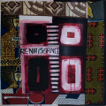 Renaissance, 2003. Collage and acrylic on canvas, 70 x 70 cm (photo courtesy the artist)
