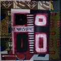 Renaissance, 2003. Collage and acrylic on canvas, 70 x 70 cm (photo courtesy the artist)
