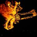 Succession Debate. Fire-sculpture performance.