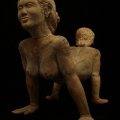 Mixed Marriage, 2007. Carved jacaranda, 60 x 120 x 8.5 cm. Artist's collection (Photo courtesy of the artist)