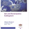 Art & Social Justice colloquium