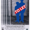 TO LET - exhibition poster