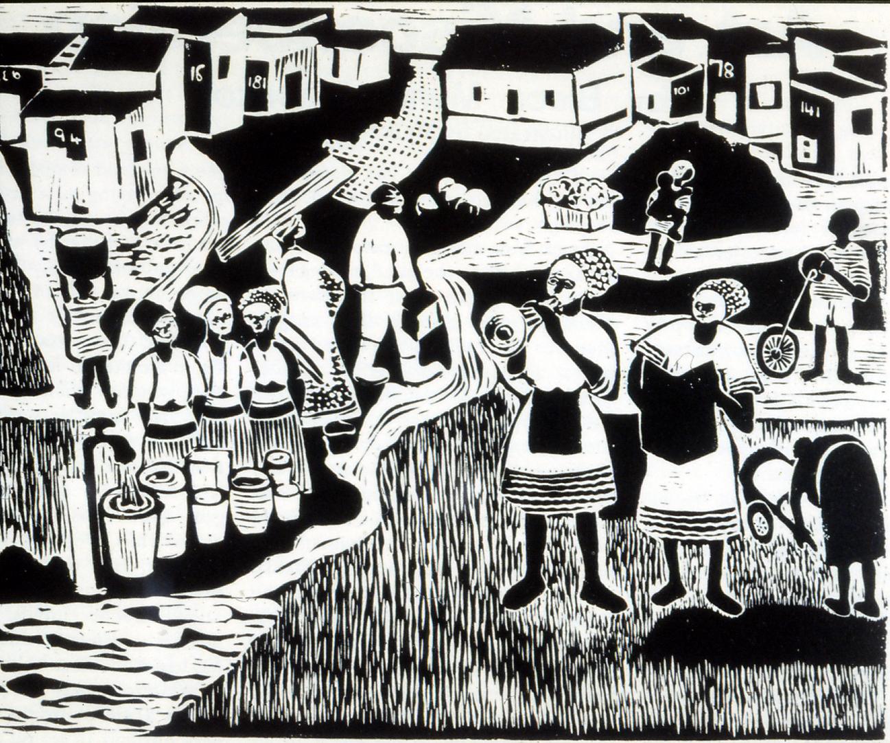 Gocini Mphati. People of Crossroads.