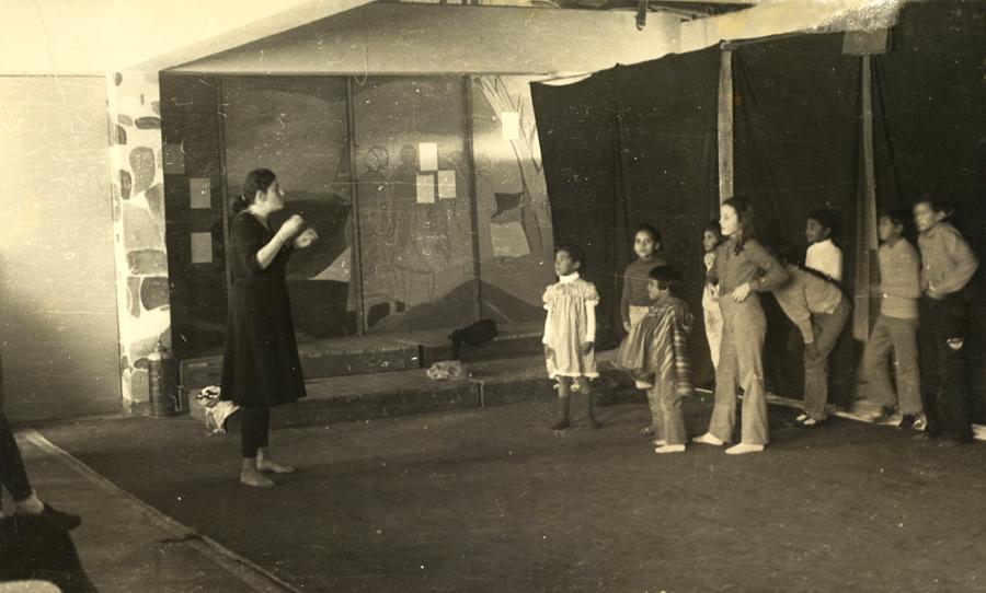 Saturday morning drama class, 1978