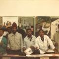 Saturday afternoon CAP art students, 1984