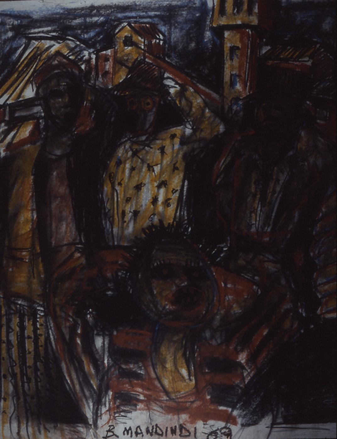 Billy Mandindi, 1989.