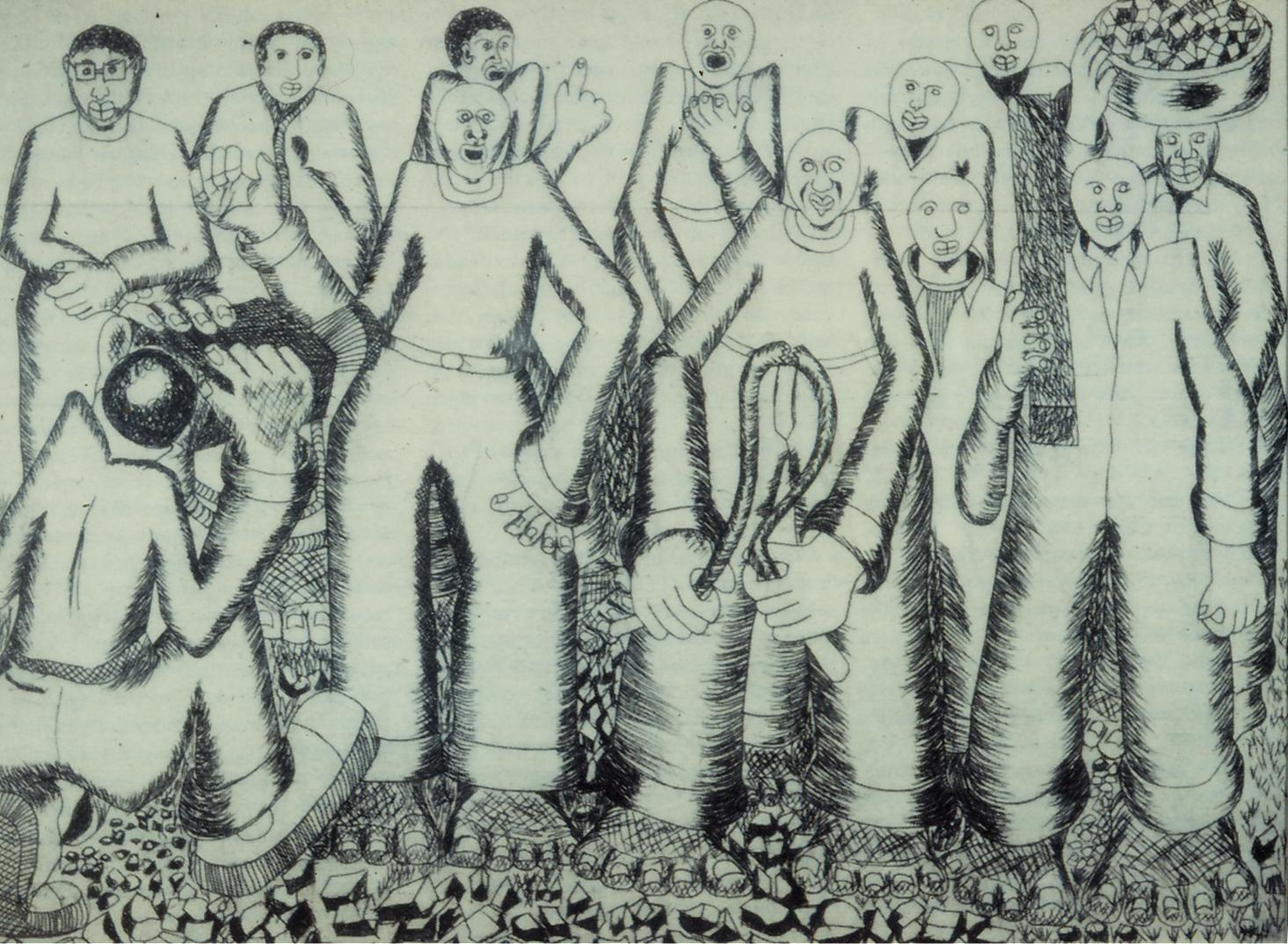 Patrick Holo, Microcosm, 1982.