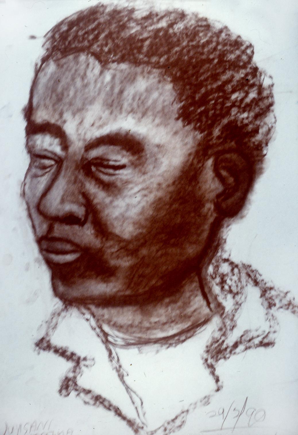 Vuyisani Mgijima, Man Amongst Man, 1989.