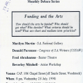 CAP monthly debate series invite, 1990. (Source: UCT Humanitec Digital Collections)