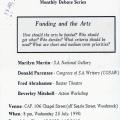 CAP monthly debate series invite, 1990. (Source: UCT Humanitec Digital Collections)