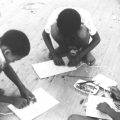 Childrens' art workshop, c. 1985-87