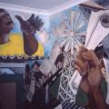 Mural, 1987. Community House, Salt River (Photo: M Pissarra)
