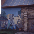 Mural. Facilitator: Lungile Bam. Community Art Project