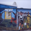Mural, 1999. Gugulethu Indoor Multisport Complex (Photo: M Pissarra)