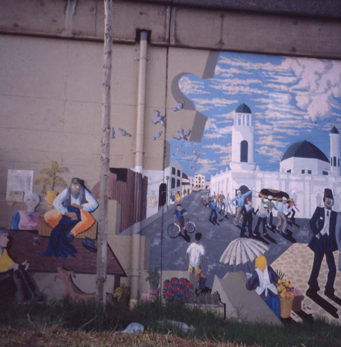Mural, c. 1998. District Six
