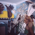 Mural, 1987. Community House, Salt River (Photo: M Pissarra)