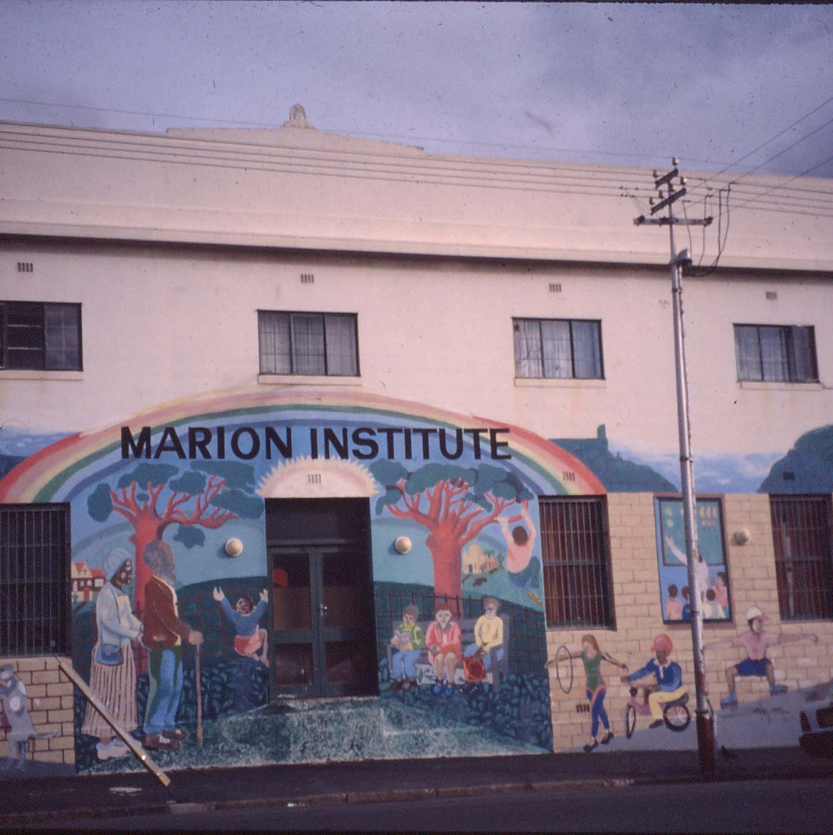Mural. Facilitator: Mario Pissarra. Marion Institute