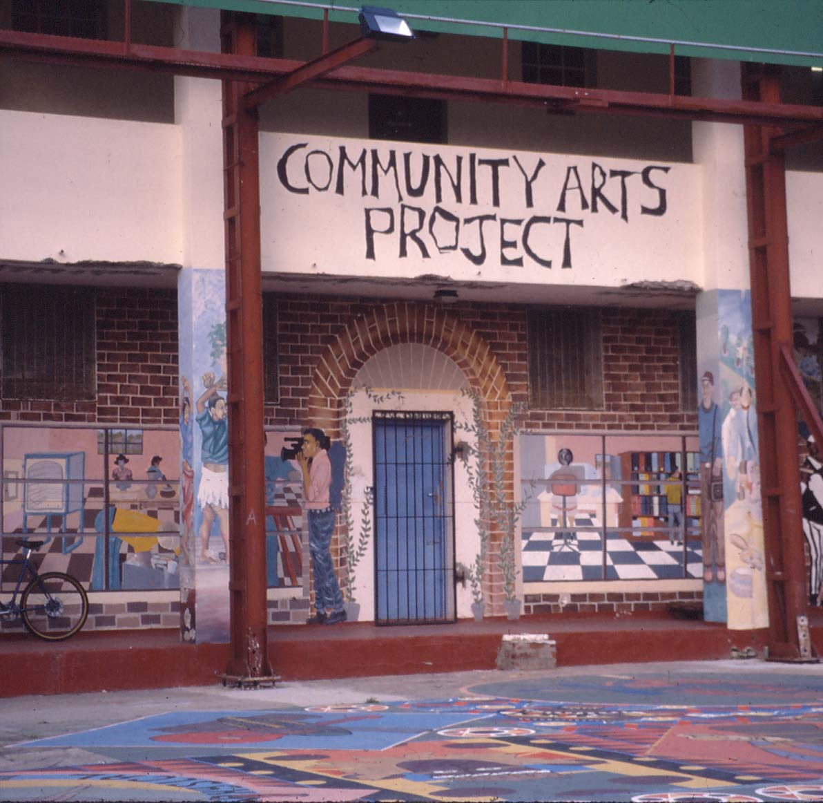 Mural. Facilitator: Lungile Bam (Photo: M Pissarra)