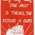 CAP Poster - SAYCO (South Africa nYouth Congress) at CAP, 1986. Silkscreen poster (Source: The Posterbook Collective of the South African History Archive. 1991. Images of Defiance: South African Resistance Posters of the 1980. Braamfontein: Ravan Press.