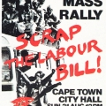 CAP Poster - COSATU at CAP, 1989. Silkscreen poster (Source: The Posterbook Collective of the South African History Archive. 1991. Images of Defiance: South African Resistance Posters of the 1980. Braamfontein: Ravan Press)