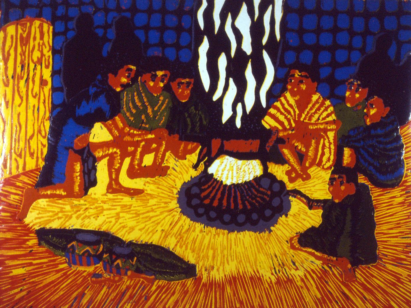 Mbuyiselo Deyi, African Braai, 1991.
