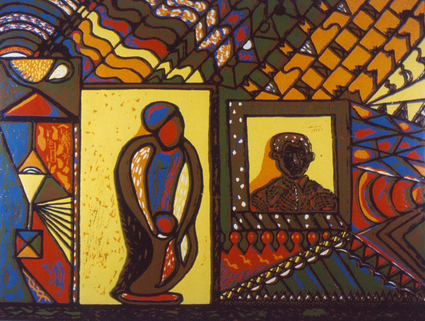 Bushy Hlongwane, Forgive, 1991.