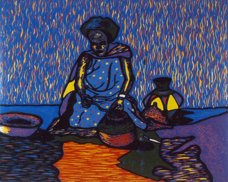 Sizakele Ndzeke, Life before the modern times, 1992.