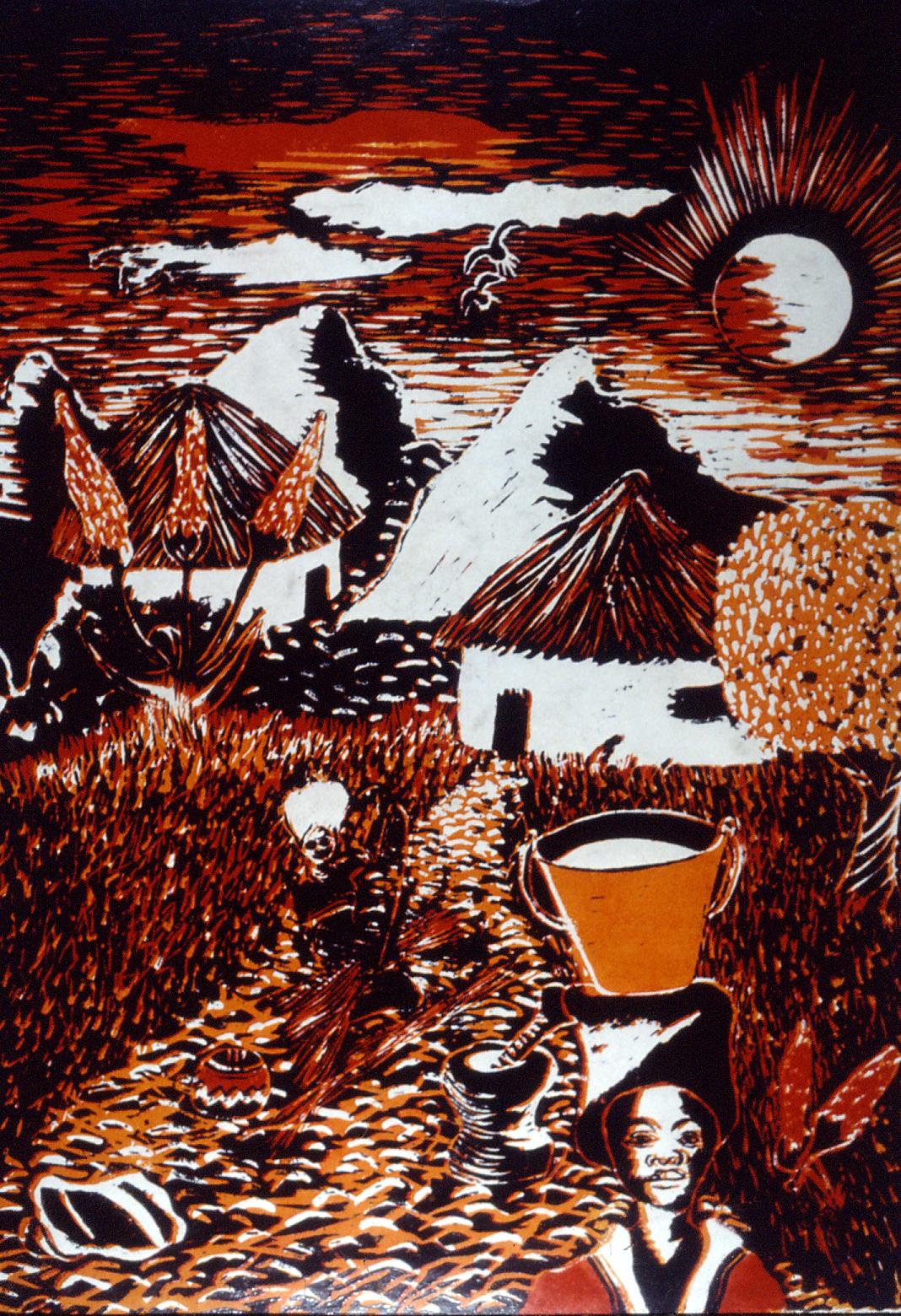Thembinkosi Ntsele, Way Back Home, 1987.