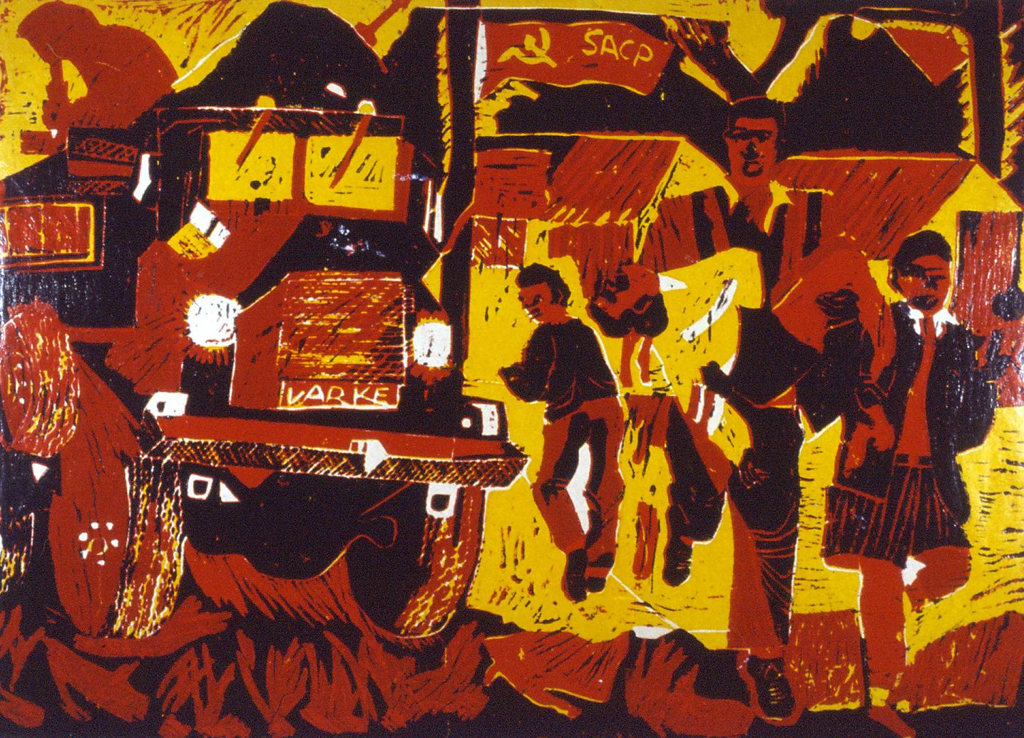 Xolile Mtakatya, How Long, 1987.