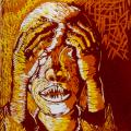 Thabo Magobiyane, Frustration, 1988.