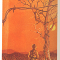 Solomon Siko, Untitled, 1988. Colour reduction linocut. 444 x 272 mm. Centre for African Studies, University of Cape Town.