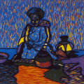 Sizakele Ndzeke, Life before the modern times, 1992.