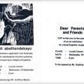 Bazali abathandekayo invitation, 1986