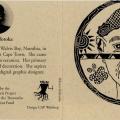 Promotional card (Erika Shifotoka), c. 2000