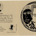 Promotional card (Tristan Mcque), c. 2000