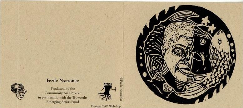 Promotional card (Fezile Nxazonke), c. 2000