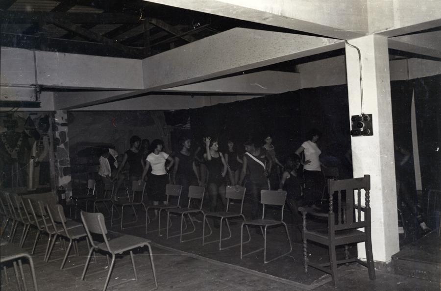 CAP modern dance group, 1978. CAP, Mowbray