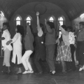 Community workers and teachers, 1988. Performance dance. CAP, Chapel Street, Woodstock