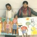 CAP visual art workshop students, 1988. CAP, Chapel Street, Woodstock