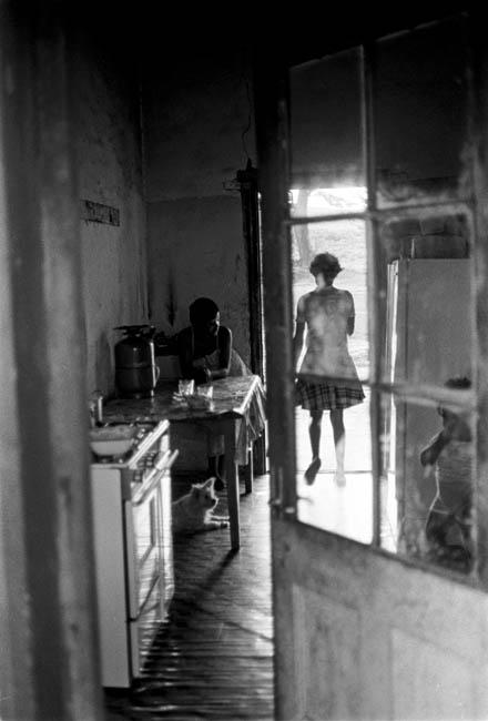 Mangete Youth in the John Dunn House, 1982. Artist's collection. (Photo: C Nunn)