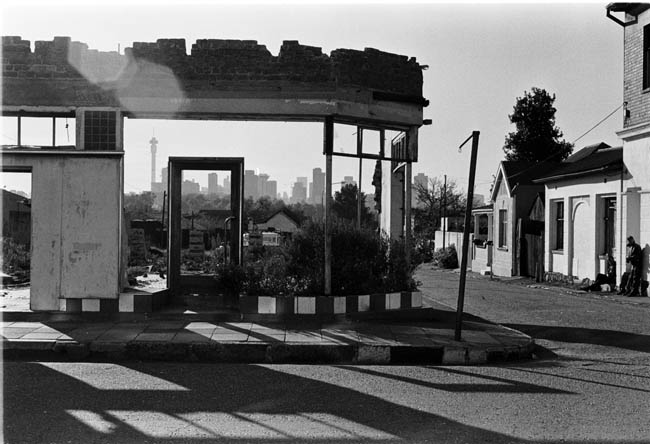 Pageview falls prey to separate development and forced removal, Johannesburg, 1983. Artist's collection. (Photo: C Nunn)