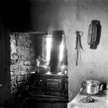 The kitchen of Amy 'Madhlavu' Louw, iVuna, KwaZulu Natal, 1995.