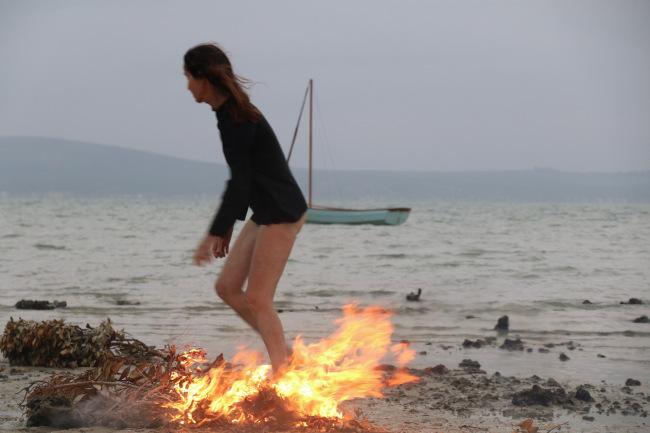 Fire ritual, - 33.1772  South, 18.0652 East, 2018.