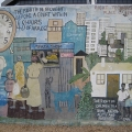 Detail from South African Interim Bill of Rights Mural, 1995. Durban, South Africa. (Photo: Lee Bob Black, 2010