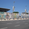 South African Bill of Rights Mural, 1997. Durban, South Africa. (Photo: Lee Bob Black, 2010)